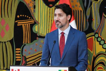 Paralysie du service ferroviaire: Trudeau préconise la négociation