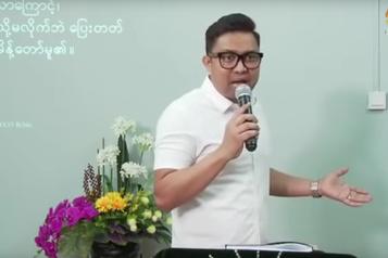Birmanie: la prison pour un pasteur canadien qui prêchait malgré le coronavirus)
