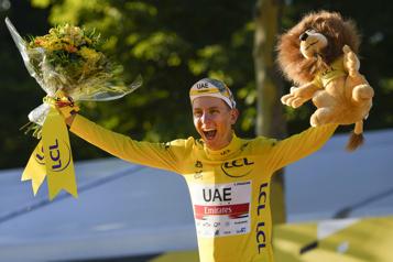 Tadej Pogačar remporte son deuxième Tour de France)