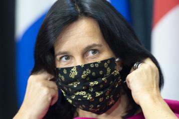 Zone rouge Des manifestants s'apprêtent à défier Valérie Plante)