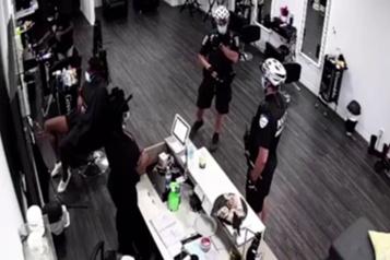 Interpellation dans un salon de coiffure La propriétaire se dit victime deprofilage)