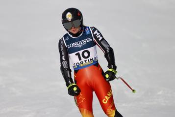 Mondiaux de ski alpin Autre sortie de piste de Valérie Grenier)