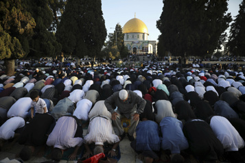 Triste fin de ramadan à Jérusalem)