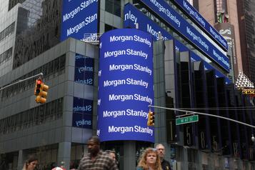 Morgan Stanley ravit Wall Street grâce au courtage