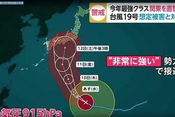 GP du Japon - Décision ce soir au sujet du typhon Hagibis