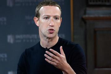Mark Zuckerberg joue l'apaisement après une semaine de tensions)