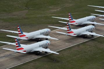 American Airlines perd 8,9 milliards de dollars en 2020)