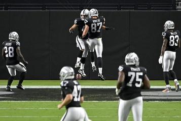 NFL Rentrée réussie pour les Raiders à LasVegas)