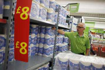 Le Parlement britannique s'interroge sur les stocks de papier toilette