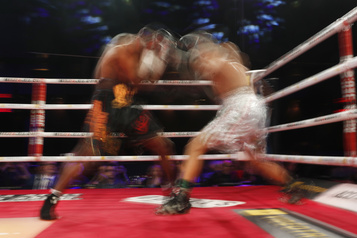 Les adeptes des sports de combat sont soulagés par la reprise graduelle)