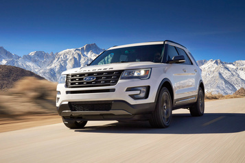 Suspension et transmission : Ford rappelle 1,3 million d'Explorer et de F-150 )