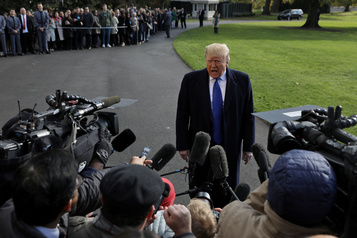 Donald Trump laisse éclater sa frustration