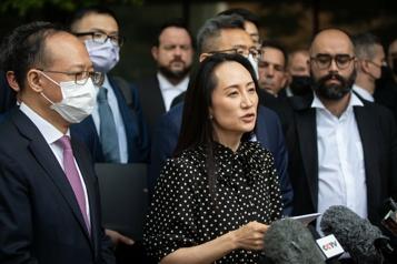Affaire Huawei Meng Wanzhou libre, les deux Michael toujours en prison)