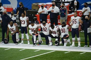 NFL: des genoux à terre pour les premiers matchs de la saison)