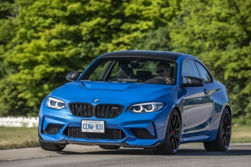 BMW  Rapide et exclusifs: la BMWM2 CS, joujou pour puristes )