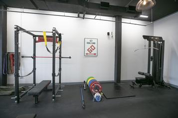 Un gym adapté à la pandémie)