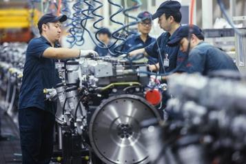 La croissance économique ralentit en Chine