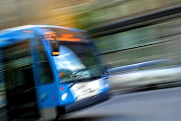 Un autobus de la STM impliqué dans un accident)