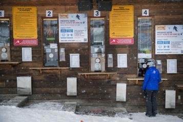 Un hiver «pas normal» au mont Sutton)