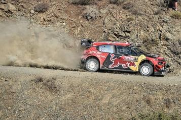 Rallye de Turquie: Ogier prend la tête, Tänak abandonne