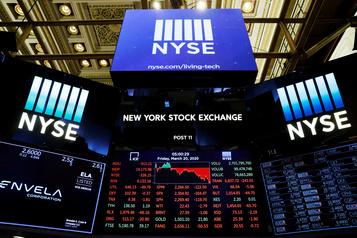 À Wall Street, le pire trimestre depuis 1987 pour le Dow Jones