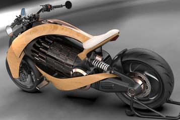 Newron, la moto électrique française en bois