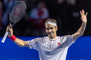Roger Federer atteint les quarts de finale à Bâle