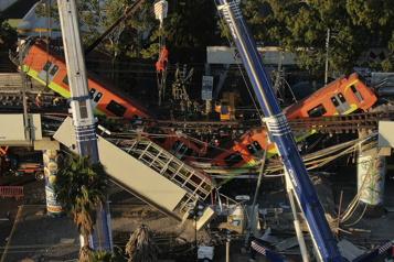 L'accident du métro de Mexico secoue le pouvoir de gauche)