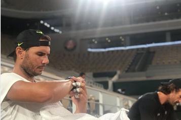 Roland-Garros: premier entraînement pour Nadal)