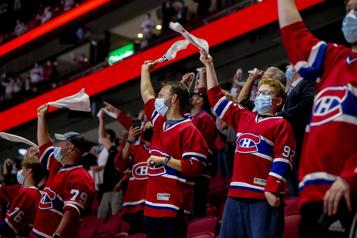 Canadien de Montréal Jusqu'à 3500spectateurs seront autorisés au Centre Bell)