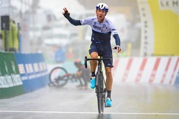 Tour de France Les grandes ambitions de Michael Woods)
