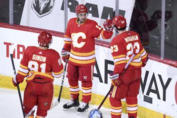 Les Flames profitent déjà d'une petite pause)