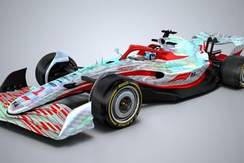 La Formule 1lève le voile sur la monoplace de 2022)