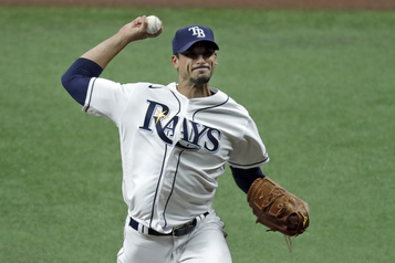 Rays de Tampa Bay: Charlie Morton à l'écart pour 10jours)