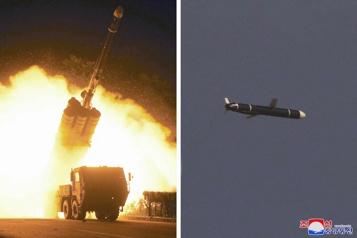 La Corée du Nord dit avoir testé des «missiles de croisière longue portée»)