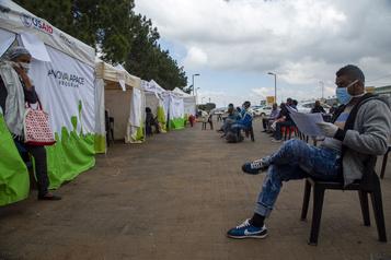 En Afrique du Sud, l'explosif cocktail coronavirus et sida