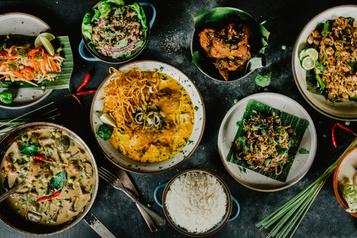 La bouffe thaïe selon Le Blind Pig)