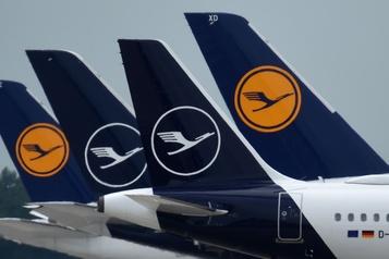 Lufthansa remet en service la moitié de sa flotte)