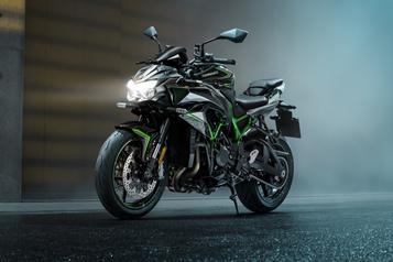 Moto Kawasaki Z H2 2020 : quand trop ne suffit plus)