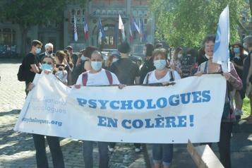 Ils veulent être écoutés Les psychologues français en colère)