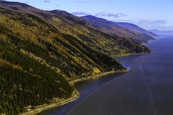 Photoreportage Le fleuve, l'automne)