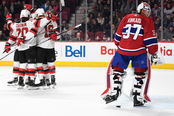 Les Devils battent le Canadien 4-3 en prolongation