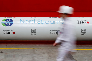 Possibles sanctions contre Moscou Accord Washington-Berlin sur le gazoduc controversé)