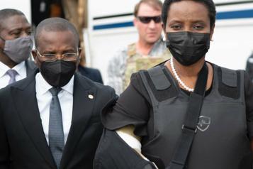 Funérailles de Jovenel Moïse L'épouse du président assassiné de retour en Haïti)