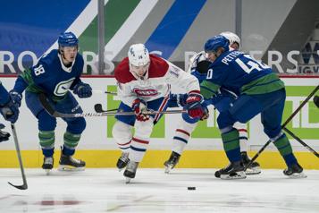 2e période Canadien2— Canucks 0)