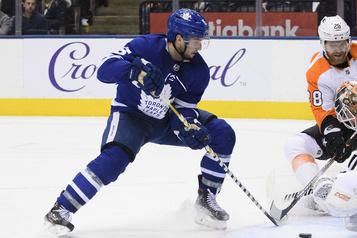 Maple Leafs: Alexander Kerfoot sur la liste des blessés