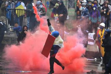 Colombie «Le peuple est aubord de l'asphyxie» )