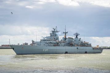 La Chine refuse à la marine allemande l'escale d'une frégate à Shanghai)