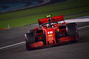 Formule 1 Ferrari vise la troisième place en 2021)