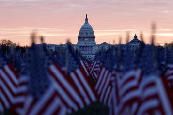 Investiture de Joe Biden «Washington n'est plus reconnaissable» )